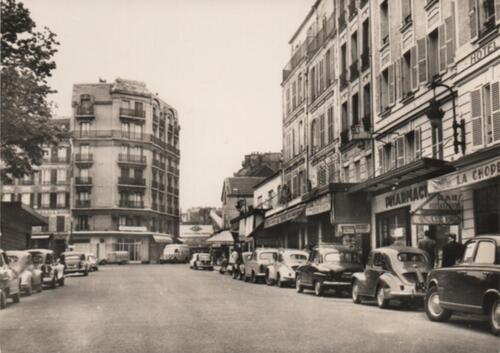 Paris - Rue du Pré Saint-Gervais