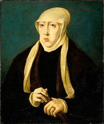 Portrait de Marie par Jan Cornelisz Vermeyen.