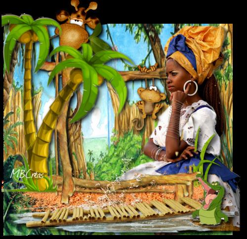 la jungle pour Babouchka