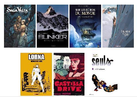 Les sorties BD de la semaine du 1 Juin