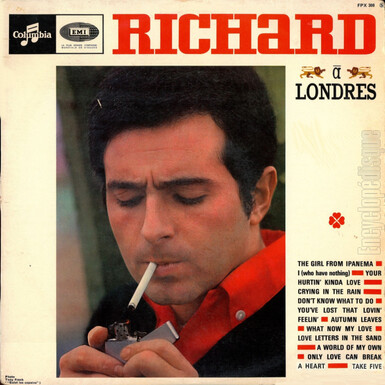 Richard Anthony à Londres, 1965