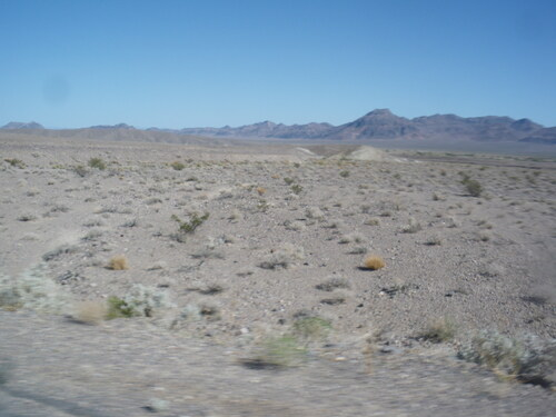 De Las Vegas à Bishop
