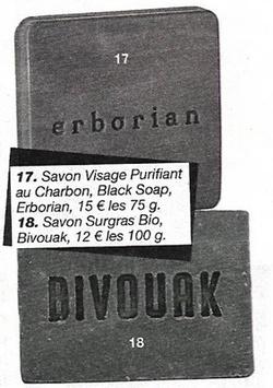 Le savon (2/2)