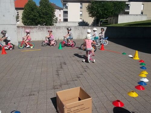 Deuxième séance de vélo