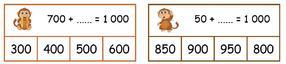 Les compléments à 10, 100, 1000