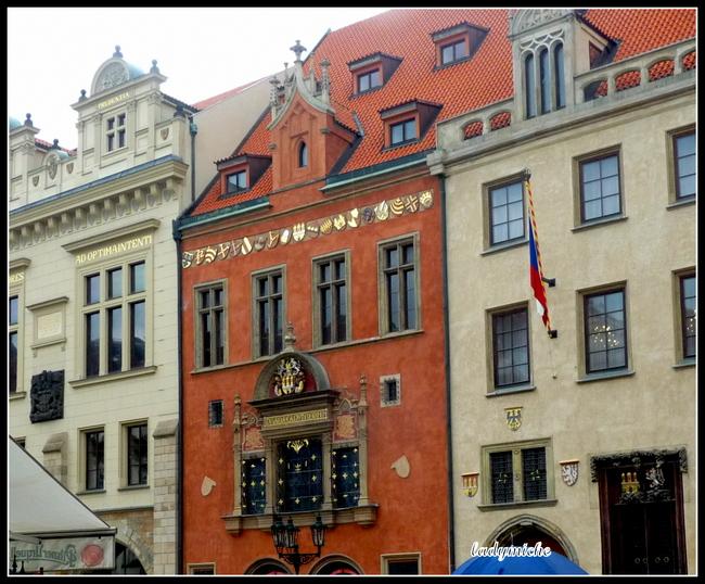 Visite du vieux PRAGUE en calèche .( république tchèque).