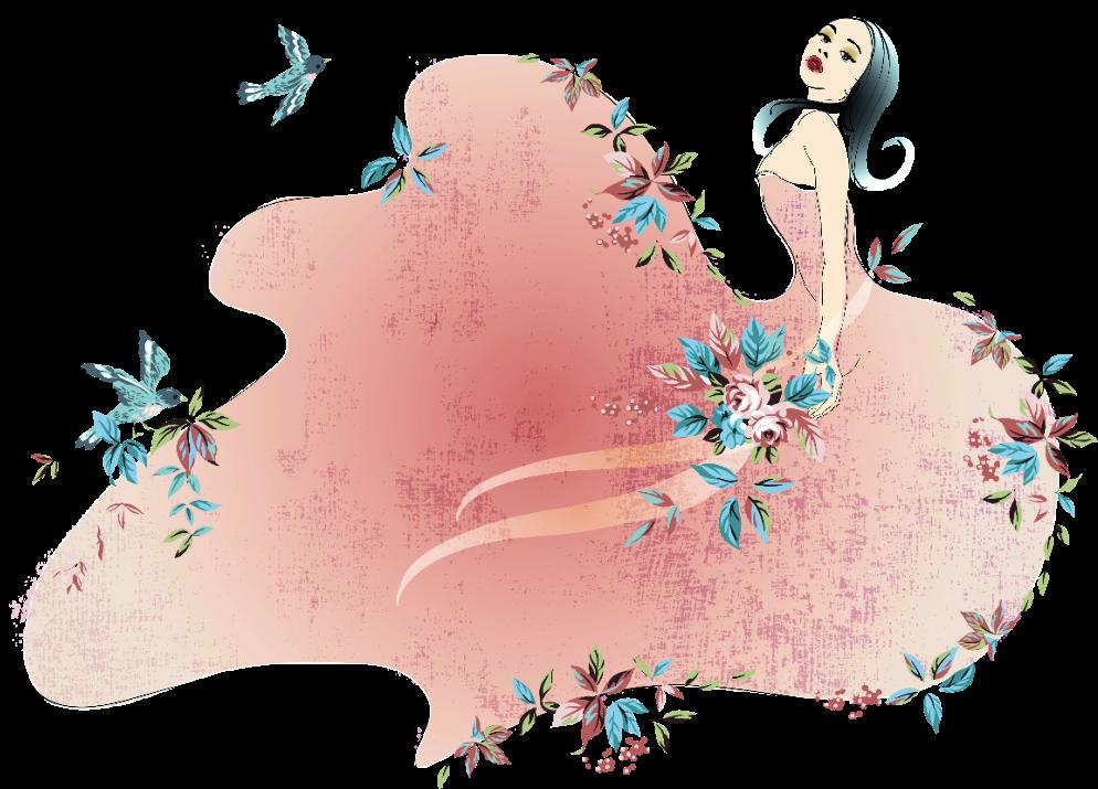 Tubes femmes dessins 2