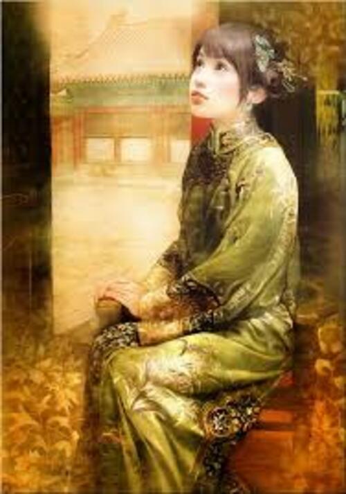 ABRAXSIS DER JEN - Peintre Chinoise. (Art - Peintures)