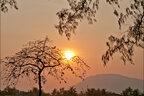Coucher soleil sur Kampot