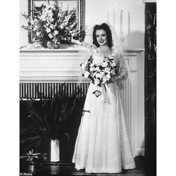 MODE * MARILYN MONROE EN ROBE DE MARIAGE
