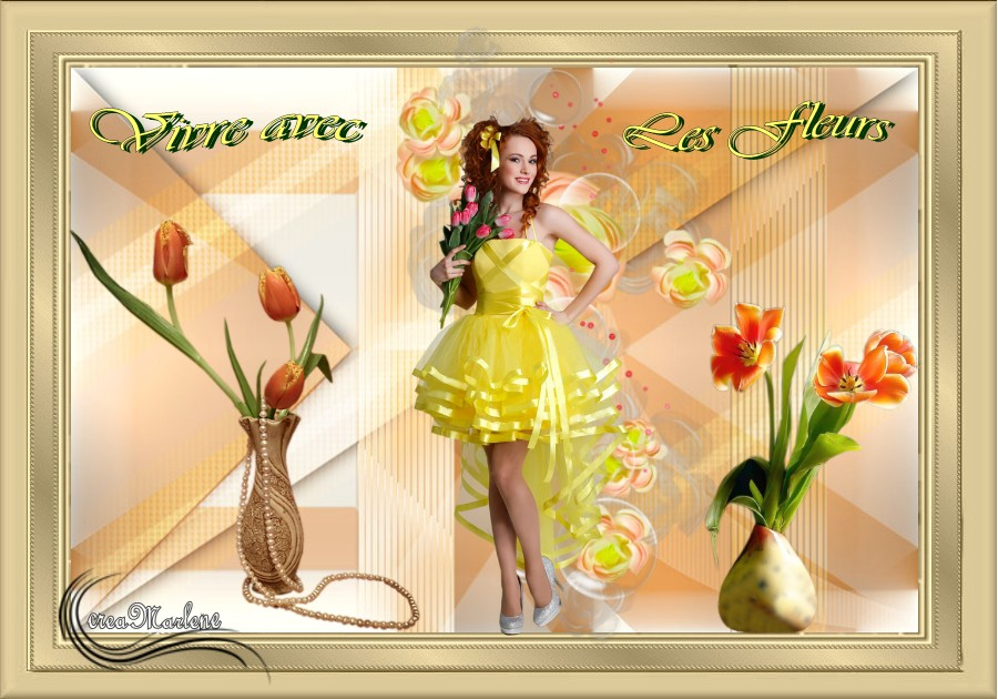 ♥ Vivre avec les fleurs ♥