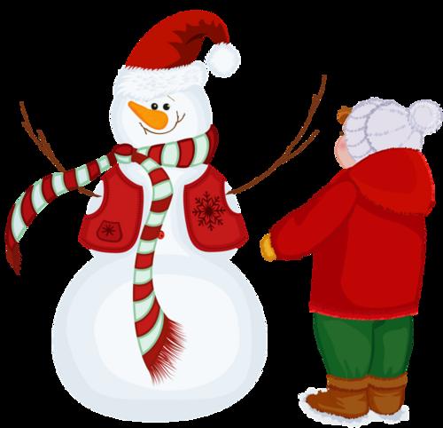 Bonhomme de neige  /Noël 2019 /