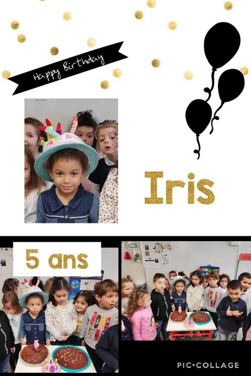 Les anniversaires de Mars en MS.