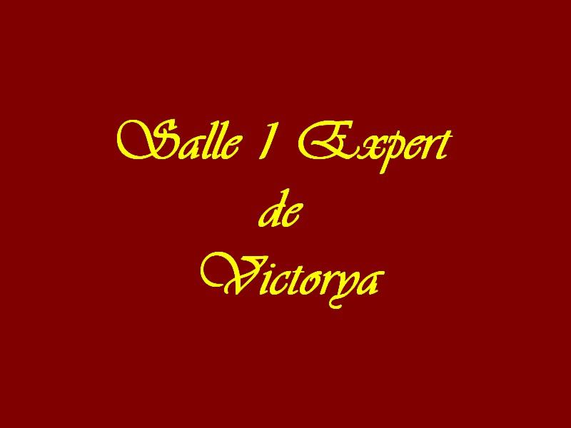 Salle 1 Experts de Victorya