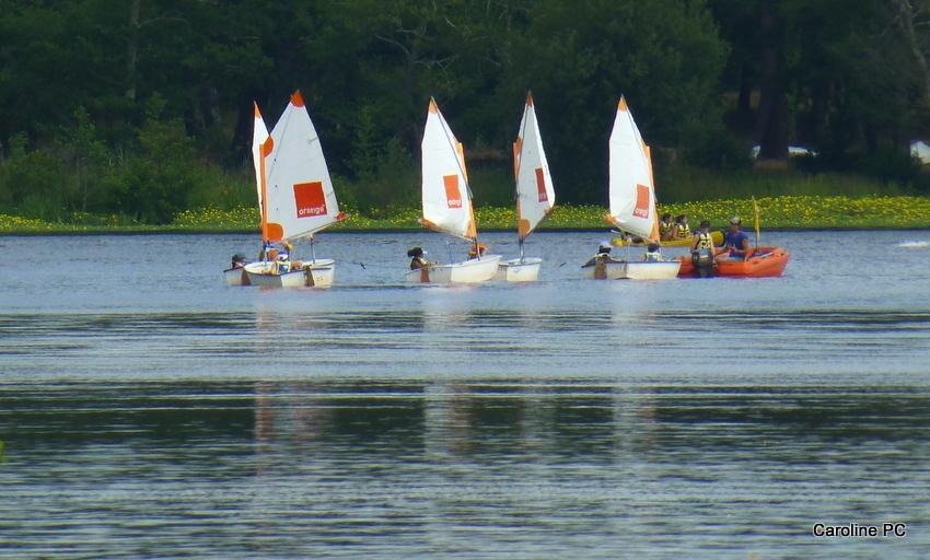* lesp'tits bateaux... sur le lac*