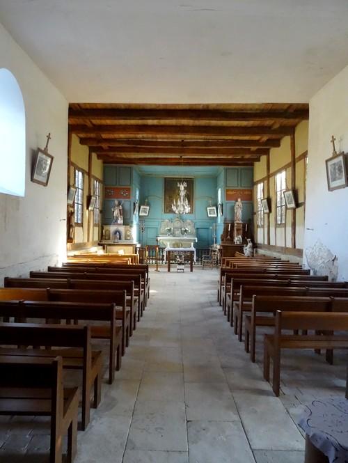 L'église à pans de bois Saint-Martin, de Juzanvigny