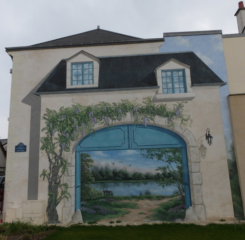 Fresque murale à Mur-de-Sologne