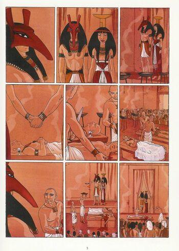 Meresankh ou le choix de Seth d'Isabelle Dethan - Sur les terres d'Horus, tome 2