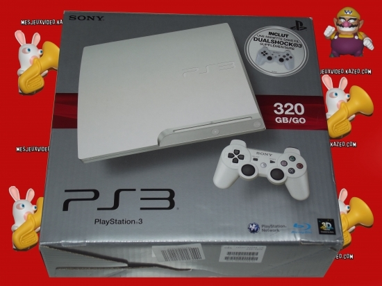 ps3 blanche