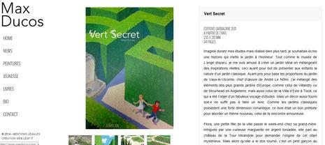 Vert Secret de Max Ducos, une aventure extraordinaire dans un fabuleux jardin...