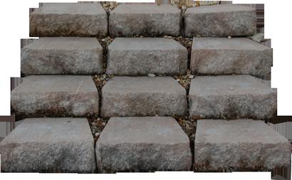 Escalier de jardin en pierre terrasse et jardin en photos for Escalier de jardin en pierre