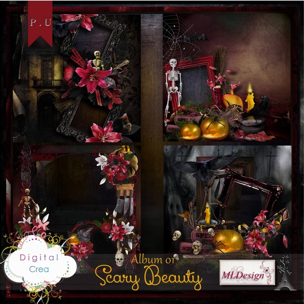 """""""Scary Beauty"""" by MLDesign"""