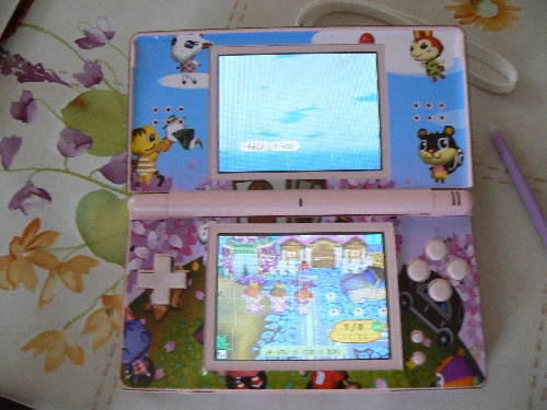 ma ds animal crossing !