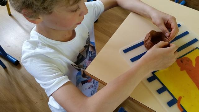 La noria : fabrication des godets