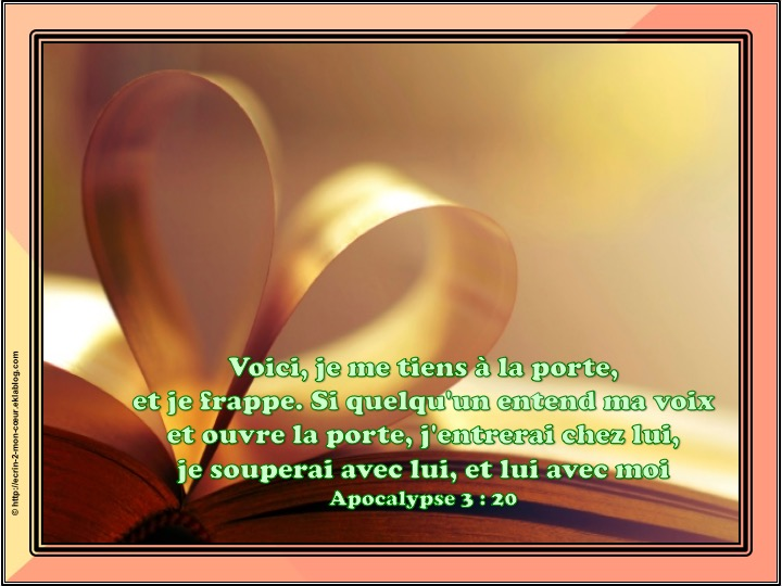 Ronde Versets du coeur 195