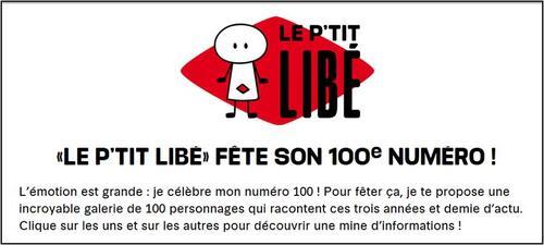 Le P'tit libé fête son 100e numéro