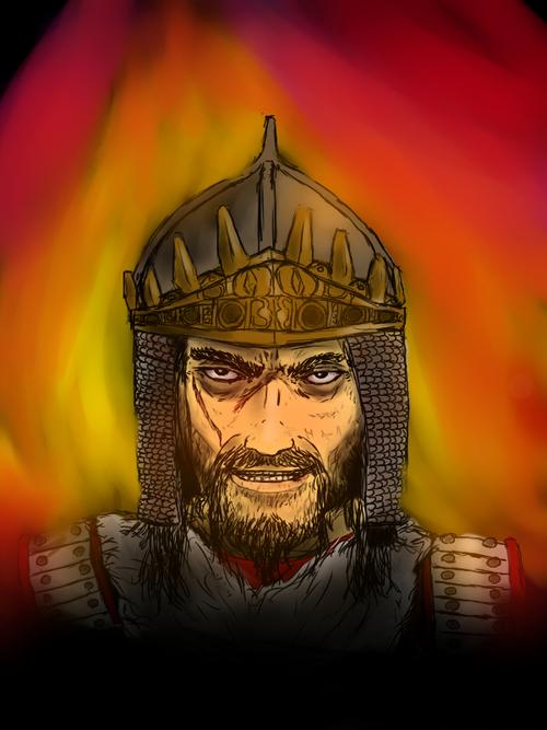 Attila, Le Fleau de Dieu