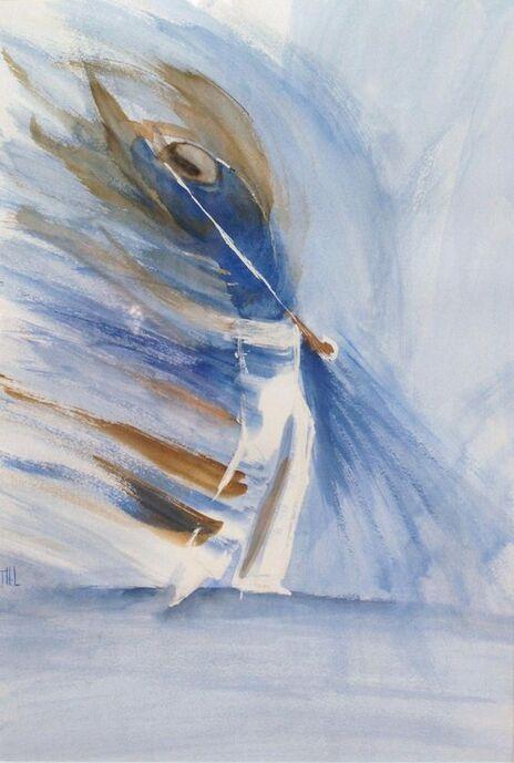 Peinture Golfeur En Mouvement CE72 | Jornalagora