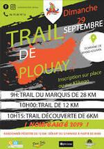 Trail du Marquis - Plouay - Dimanche 29 septembre 2019