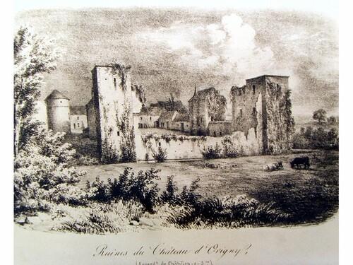 Le château d'Origny sur Seine
