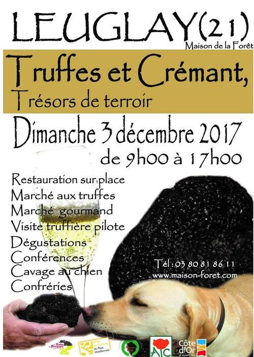 Le marché aux truffes et crémant aura lieu dimanche 3 décembre 2017
