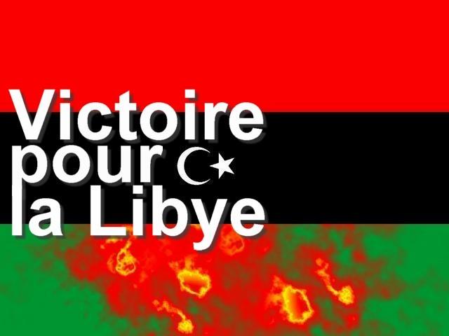 Victoire pour la Libye mp1357 2011