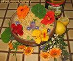 Cuisinez avec les fleurs