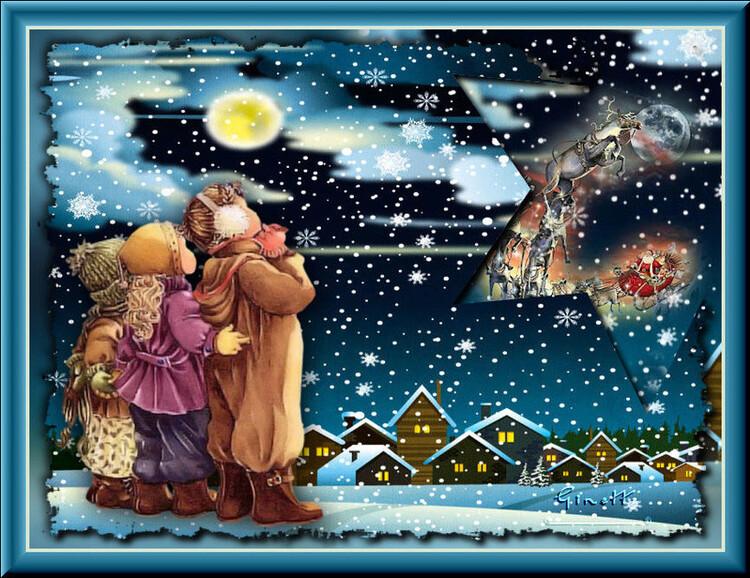 Vos versions du tuto 23: Père Noël revient