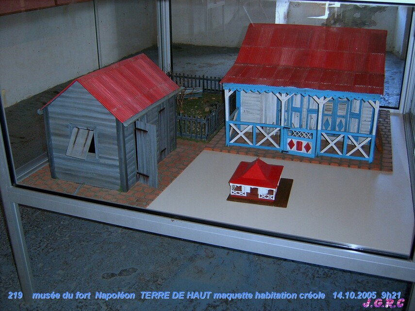 VACANCES GUADELOUPE  13/16  TERRE DE HAUT  10 - 17/10/2005  D  22/04/2015