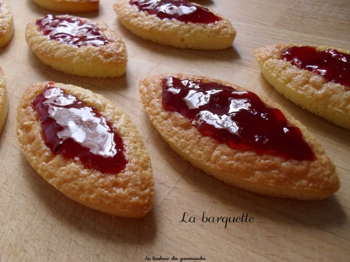 Barquettes aux 4 fruits rouges