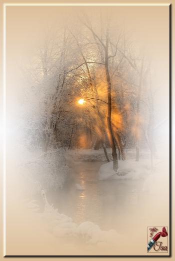 HI0017 - Tube paysage d'hiver