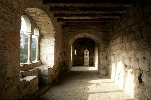 Rocamadour : le chemin de ronde...
