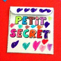 Pochette petit secret