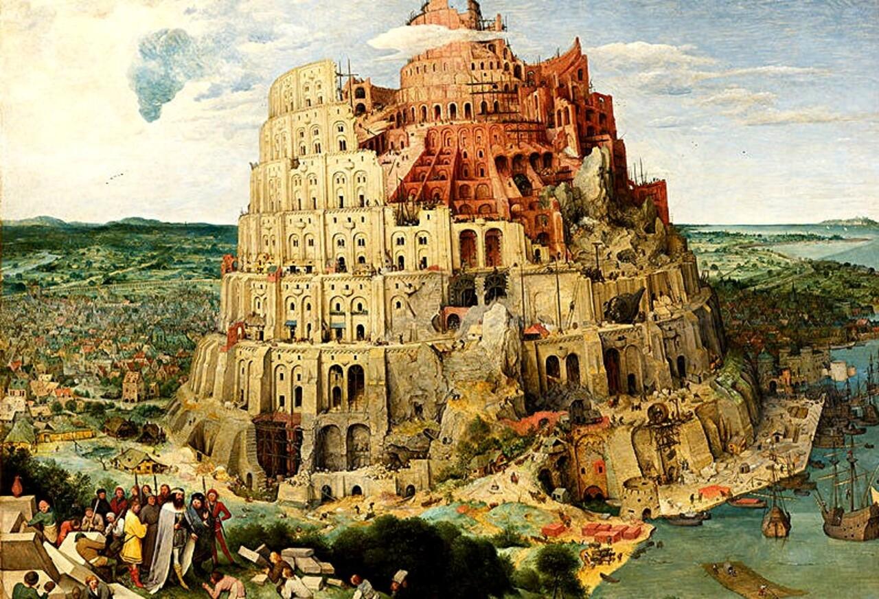 Bruegels 5 / 1563 : la tour de Babel