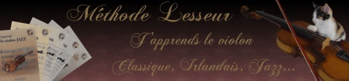 APPRENTISSAGE VIOLON AVEC LA METHODE LESSEUR