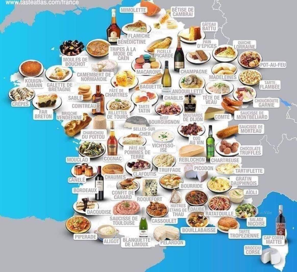 Et chez vous, on mange quoi ?