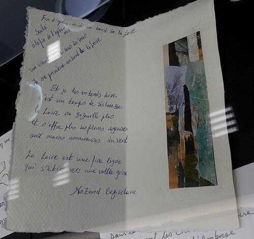 """Exposition """"écrire la Loire"""". mars 2019"""