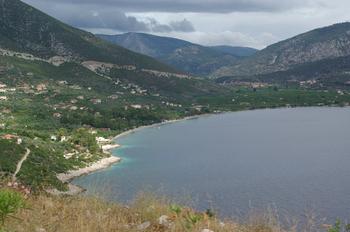 De Methana à Corinthe