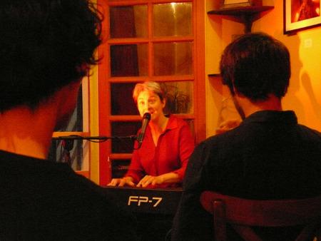Deux soirées chansons auprès d'un public chaleureux...