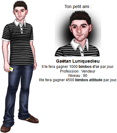Niveau 90 :   Gaëtan Luniquedieu